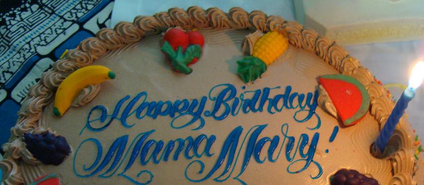 Happy Birthday Mama Mary Katekista